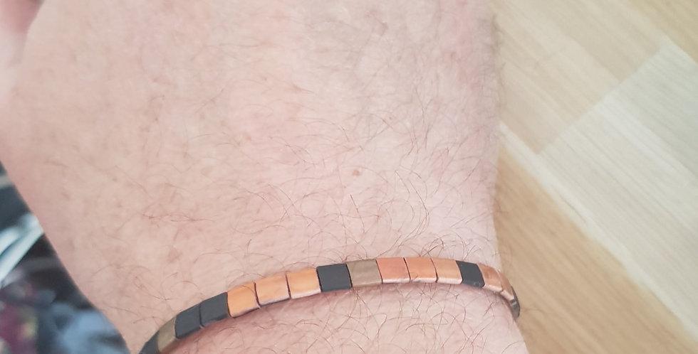 Bracelet Tila Homme - bronze