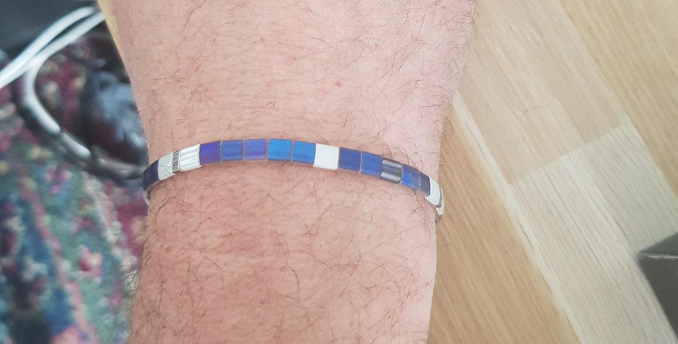 Bracelet Tila Homme - blue