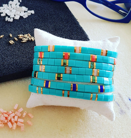 Collection Tila turquoise