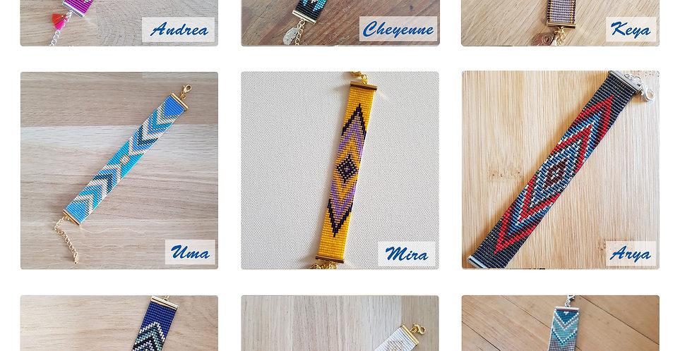 TISSAGE - bracelet medium