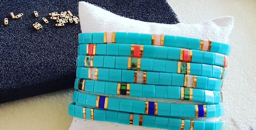 Bracelet Tila collection turquoise