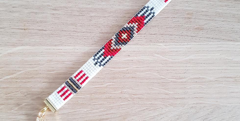 bracelet-tissage-carlota-rouge