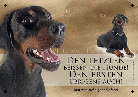 Dobermann - schwarz