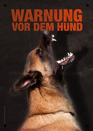 Malinois - Warnung vor dem Hund