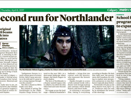 Second Theatrical Run for Northlander - Metro News