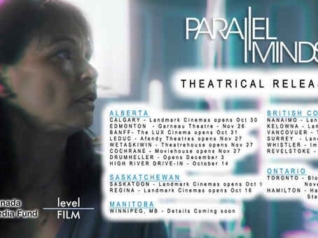 Canadian Theatrical Release Dates - Parallel Minds