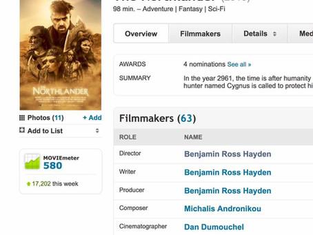 The Northlander - Top 500 on IMDb