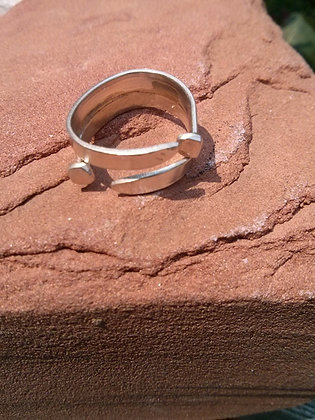 Nail Cross Ring