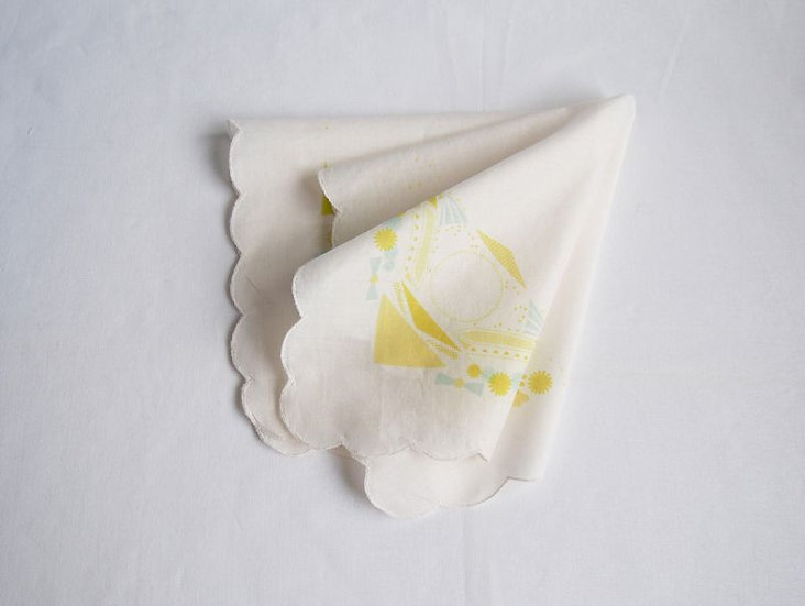 japan handkerchief ~yellow ~