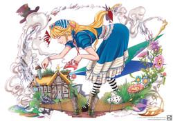 Alice in wonderland- KAZE PARK style