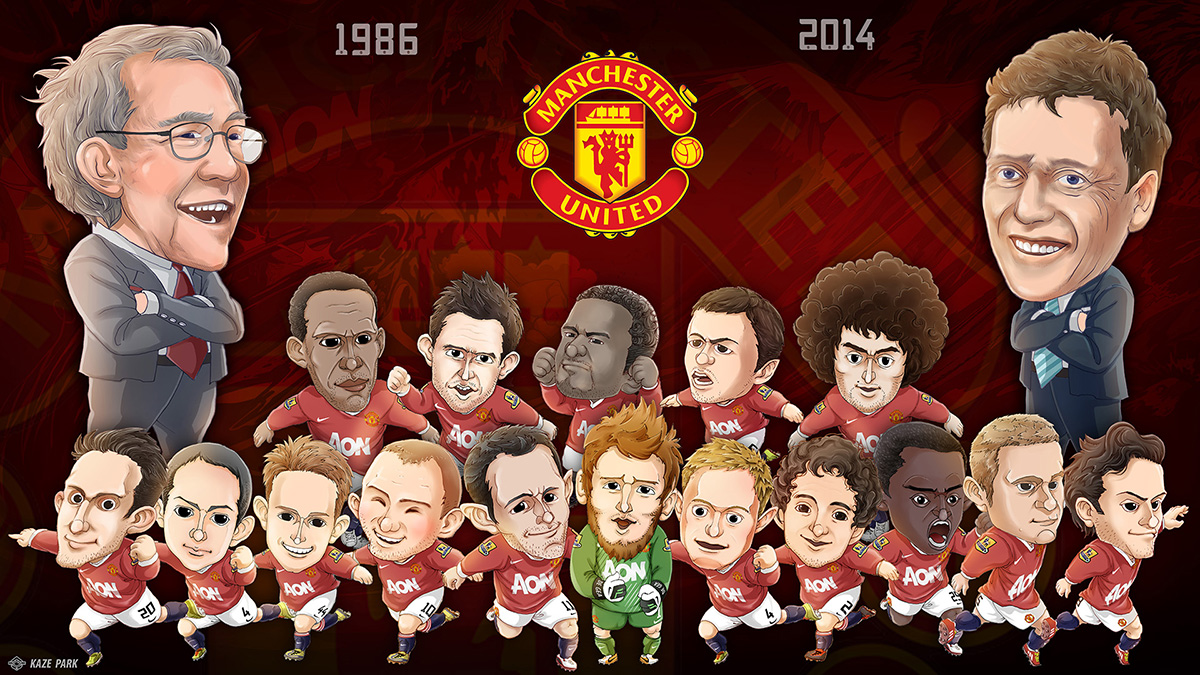 2014 Manchester united