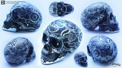 BLACK Skull Series
