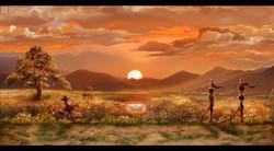 Concept - Sunset
