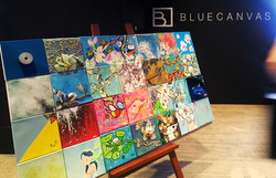 BLUE CANVAS opening