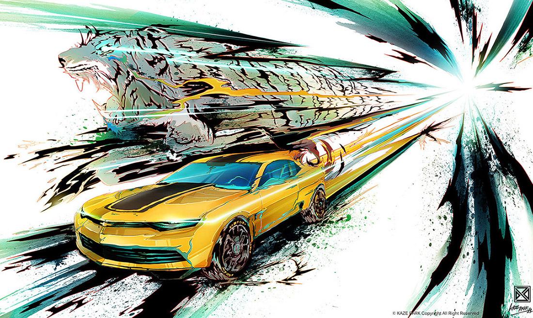 Chevrolet - CAMARO Concept model