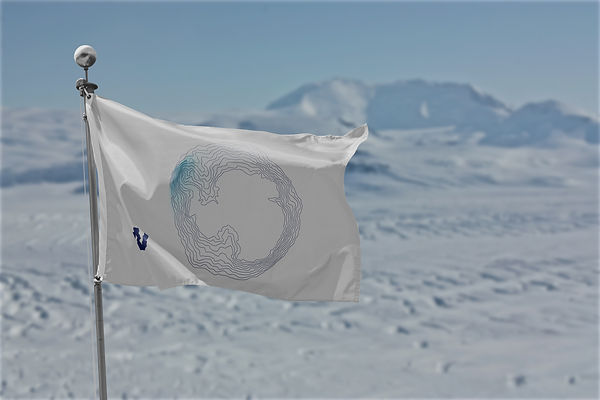 Terra Australis Incognita Winter Flag