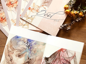 創作画集「Oeil」通販開始のお知らせ