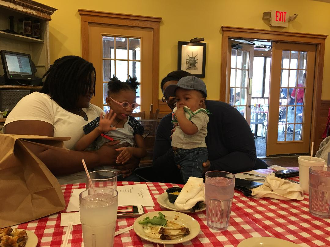 momme luncheon with kiddos