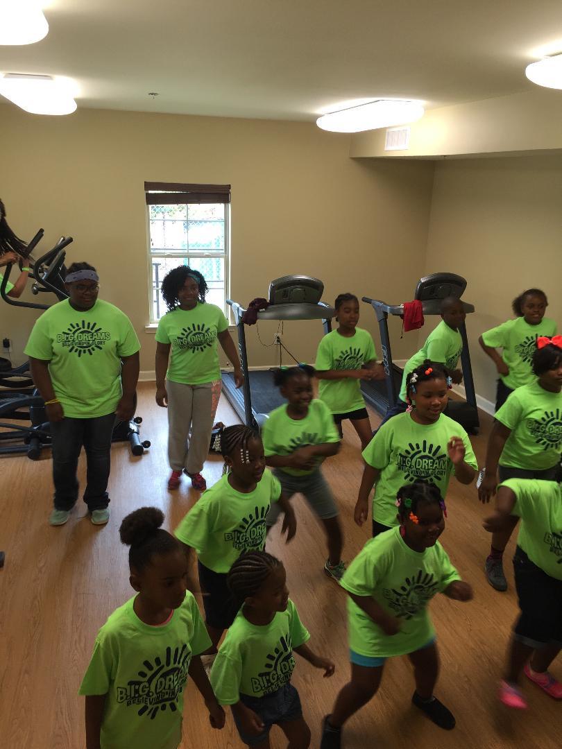 camp dancing