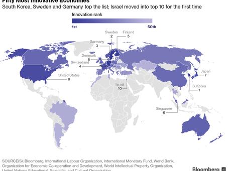 Германия – в тройке наиболее инновационных стран
