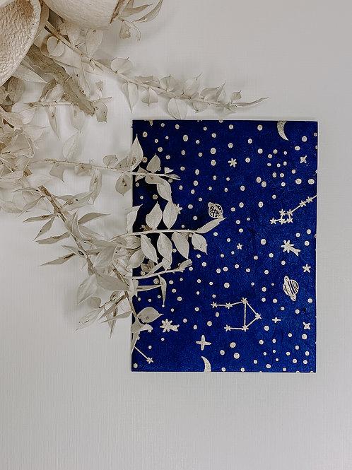 Celestial Lokta Plant Notecard