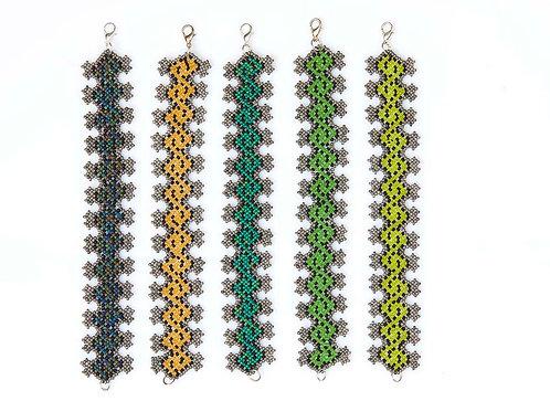 Aztec Style Beaded Bracelets