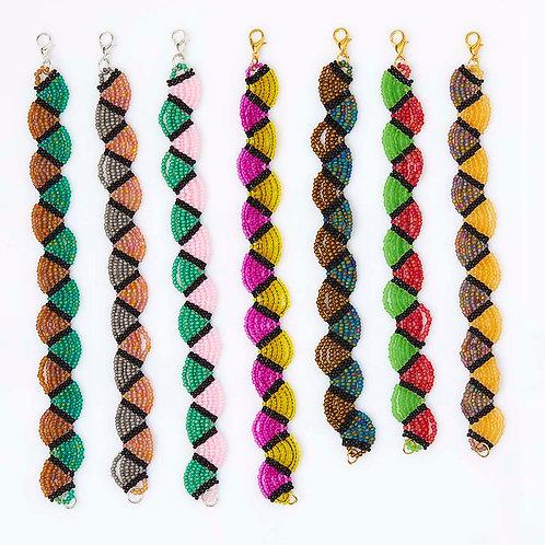 Colorful Friendship Beaded Bracelets