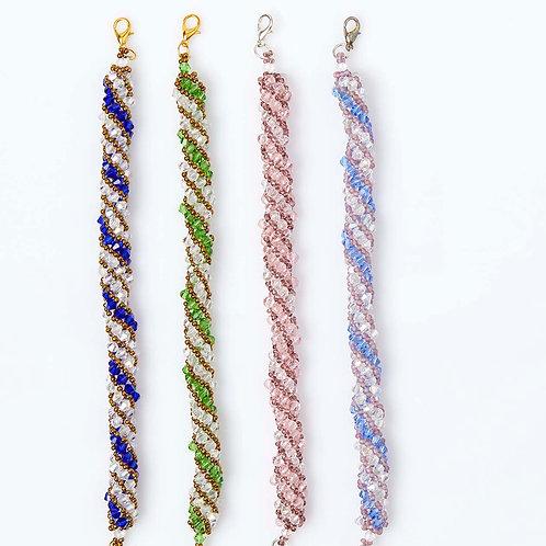 Elegant Crystals & Beads Bracelets