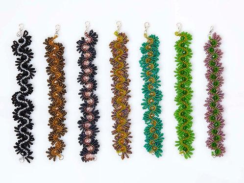 Blossom Beads & Crystal Bracelets