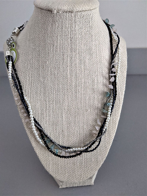 Hope Multi-Stranded Necklaces with Magnetic Clasps