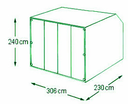 10ft AMJ Container