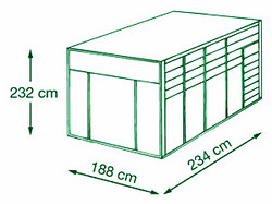 HMJ, HMA Triple Horse Container