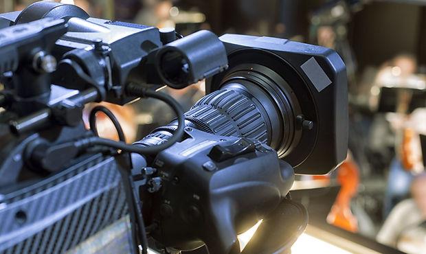 Broadcast videokamera
