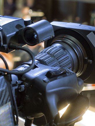 방송 비디오 카메라