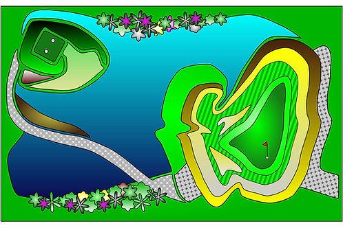 Skye Lakes #1 - 11x17