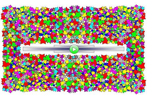 2000 Stars - 11x17