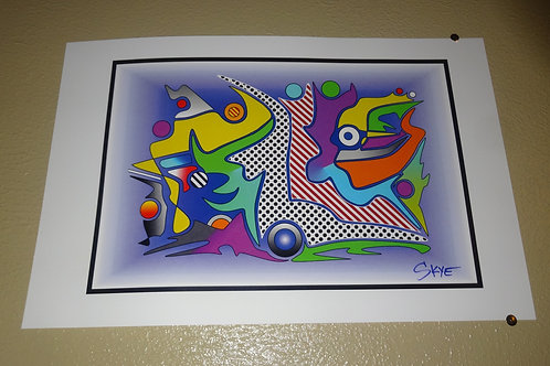 "'Dream of Color' 10"" x 16"""