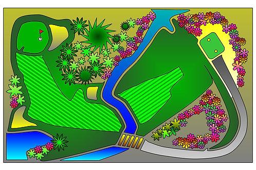 Shallow Creek #1 - 11x17