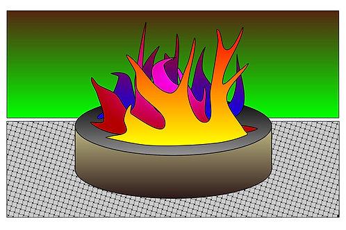 Bonfire - 11x17