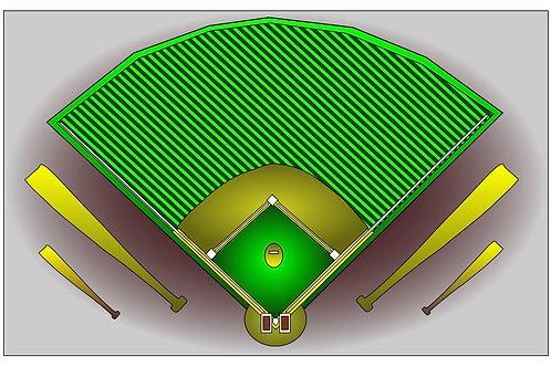 Play Ball - 11x17