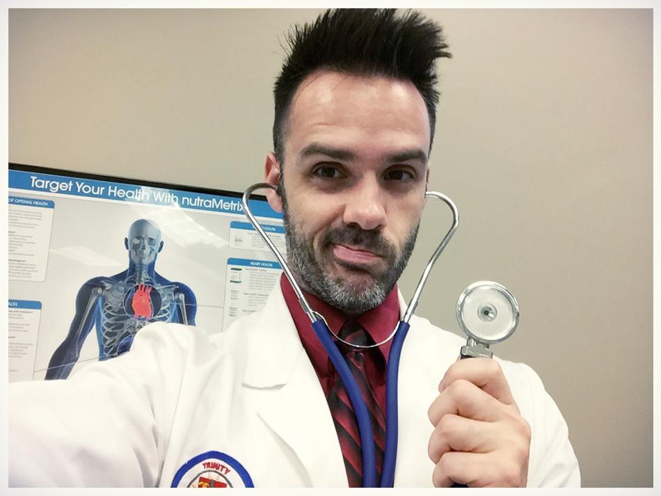 Keep the doctor near...not away
