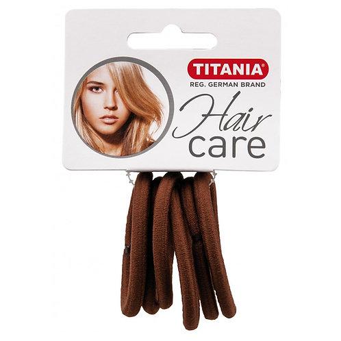 סט גומיות חומות לשיער