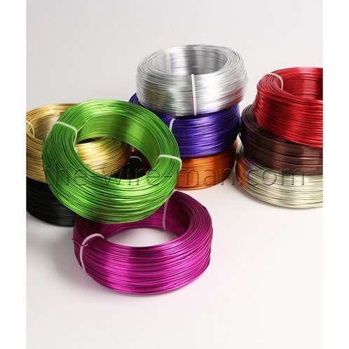 חוט אלומיניום צבעוני