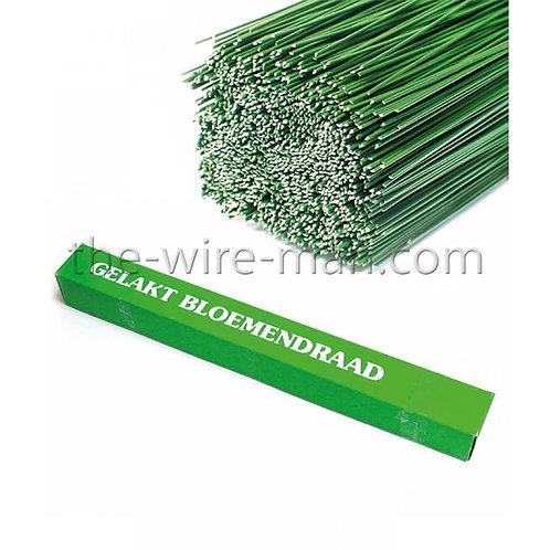 חוטי ברזל מצופים בצבע ירוק
