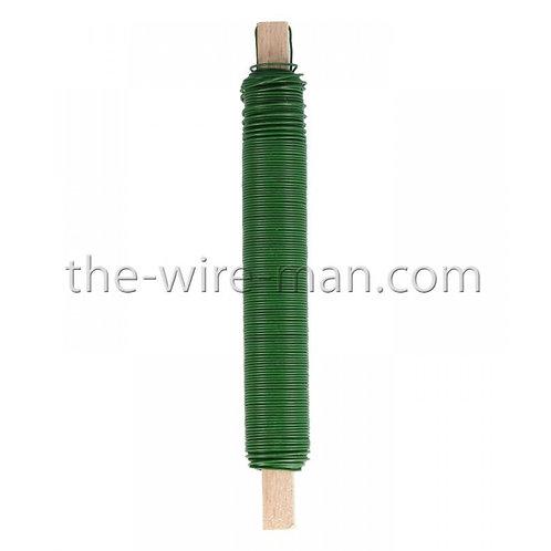 חוט ברזל מצופה בצבע ירוק