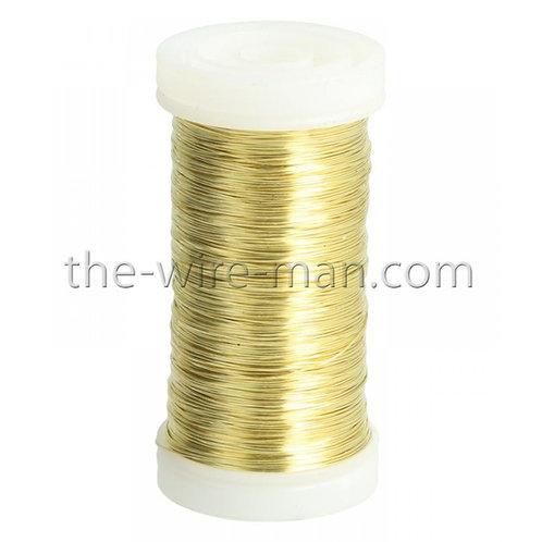 חוט ברזל מצופה בצבע זהב
