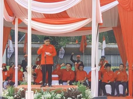 HUT Ke-74 RI, PDIP Tegaskan Semangat Perjuangan Bung Karno
