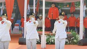 Peringatan HUT Ke-74 oleh PDIP di Blok S Berlangsung Meriah