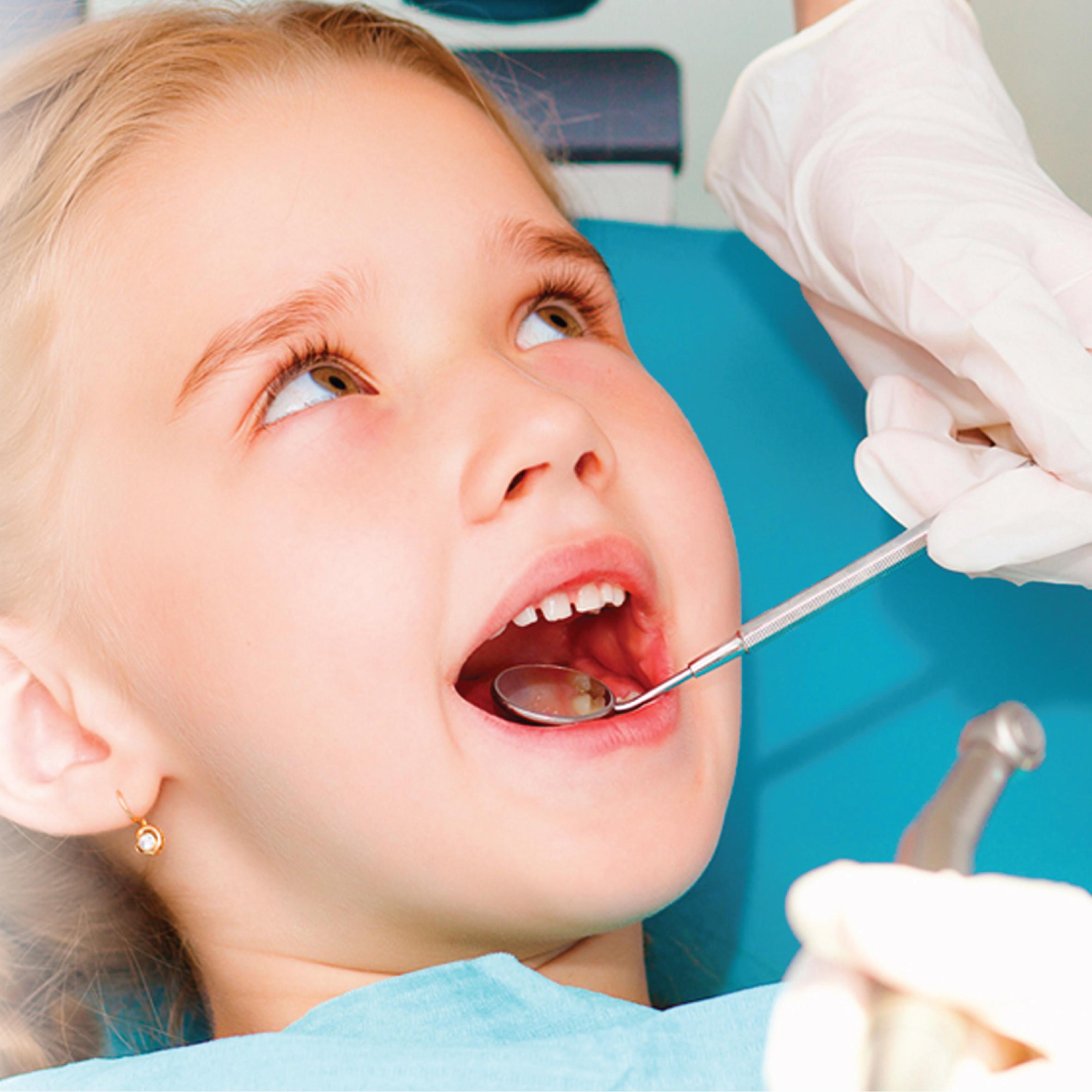 علاج أسنان الأطفال