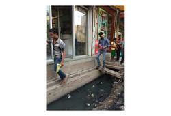 Overview Sangam Vihar - open drains and a lack of place_Daniel Grenz